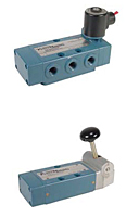 "Rexroth PowerMaster® Single Solenoid Valves (4 Way, 2 Position - 1/4"" - 3/4"" NPTF)"