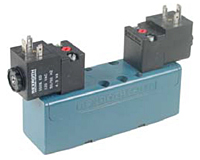 Aventics Ceram™ Double Solenoid Valves, 5/3, Closed Center