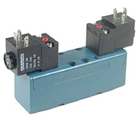 Rexroth Ceram™ Double Solenoid Valves, 5/3, Exhaust Open Center