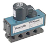 "Rexroth TaskMaster® Solenoid Valves, 2 Position, 1/4"" & 3/8"" NPTF, 3 Position, 1/4"" & 3/8"" NPTF, Explosion-Proof Valves, Lever Operated Valves"